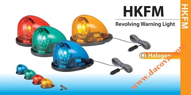 Den quay canh bao xe canh sat, Đèn quay cảnh báo xe cảnh sát có nam châm HKFM