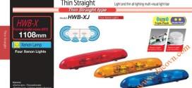 Đèn cảnh báo tín hiệu xe cảnh sát, cứu thương Patlite 1108mm: HWB-12X
