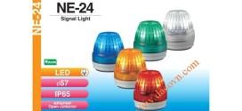 Đèn cảnh báo tín hiệu Patlite Φ57, LED, chống rung, IP65, NE-24