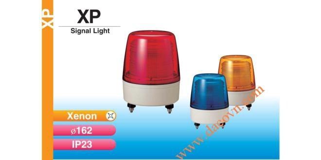 Đèn cảnh báo Patlite Φ162, bóng Xenon, nhấp nháy, chống rung, IP23, XP