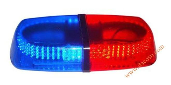 Đèn hộp ngắn xe ưu tiên LED Light Bar LED-235L dài 30cm, nam châm hút dính, tẩu nguồn