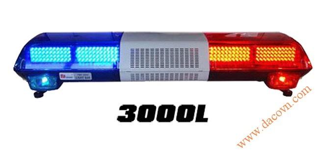 Đèn hộp cảnh báo xe ưu tiên LED Light Bar TBD-3000L dài 1.2m