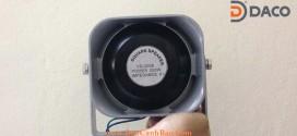 Loa Dẹt lắp cho xe ô tô chống thấm nước YS-100-3A, 100W-Không gian hẹp