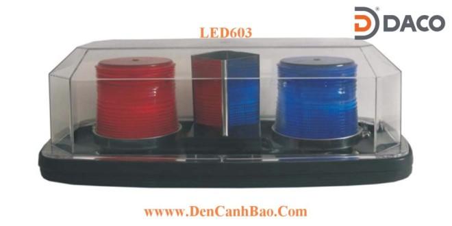Đèn Hộp Xe Ưu Tiên Light Bar LED-603 Dài 40cm, Nam Châm Hút Dính, Tẩu Nguồn
