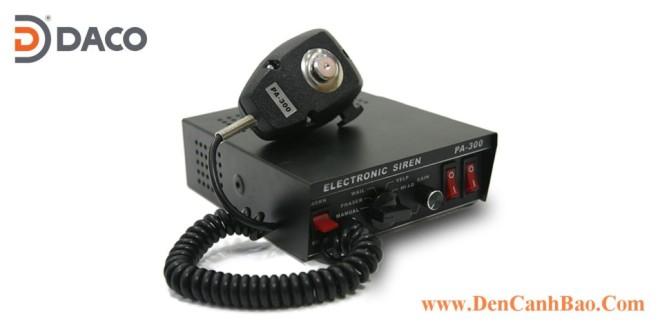 PA300 Bộ tạo tín hiệu còi hú xe ưu tiên Cảnh sát, Cứu hỏa, Cứu thương, Quân sự 100W