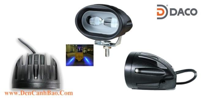 Đèn vạch vùng an toàn cho xe nâng Forklift FLSZBL-8106C, 10-60VDC, 10W, IP67