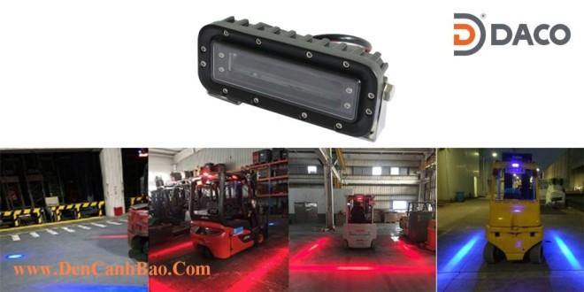 Đèn Vạch Vùng An Toàn Cho Xe Nâng Forklift FLSZBL-8185, 10-60VDC, 18W, IP68
