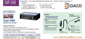 SAP-500EBK, SAP-500ECK Bộ Tạo Chọn Tín Hiệu Còi Hú Patlite 50W, 12&24VDC Cho Xe Ưu Tiên