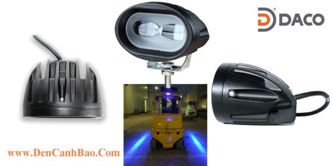 FLSZBL-8106C-B Đèn Vạch Vùng An Toàn Cho Xe Nâng Forklift 10-60VDC, 10W, IP67, Màu Xanh Lam