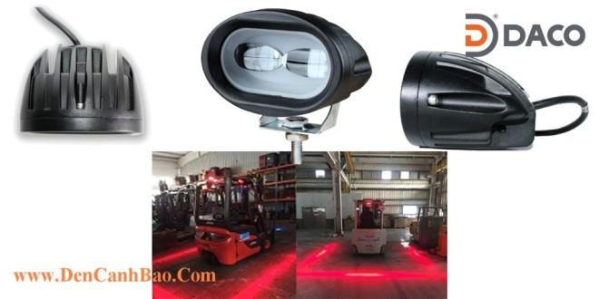 FLSZBL-8106C-R Đèn Vạch Vùng An Toàn Cho Xe Nâng Forklift 10-60VDC, 10W, IP67, Màu Đỏ