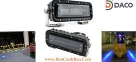 FLSZBL-8185-B Đèn vạch vùng an toàn xe nâng 10-60VDC Bóng LED 18W IP68, màu Xanh