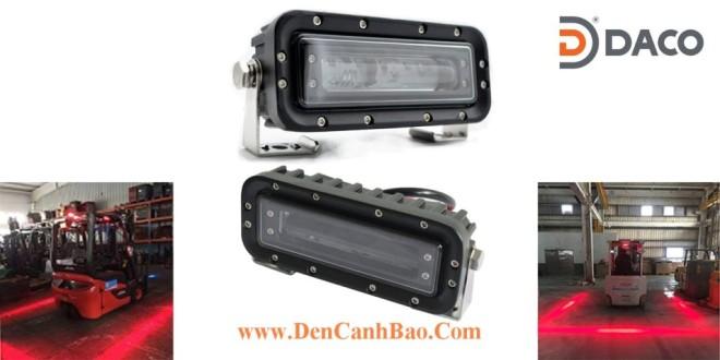 FLSZBL-8185-R Đèn vạch vùng an toàn xe nâng 10-60VDC Bóng LED 18W IP68, màu Đỏ
