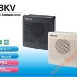 Loa Còi Cảnh báo MP3 Patlite, Còi Buzzer 32 Âm Báo 95dB, Vuông 80mm, IP54, BKV - Loa coi canh bao MP3 Patlite BKV