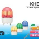 Đèn cảnh báo tín hiệu Patlite Φ100, LED, chống rung, IP65, KHE - Den-bao-hieu-canh-bao-tin-hieu-Patlite-KHE