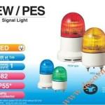 Đèn cảnh báo Patlite Φ82, LED, nhấp nháy, âm báo 85dB, IP55, PEW-B - Den-bao-hieu-canh-bao-tin-hieu-Patlite-PEW-PES