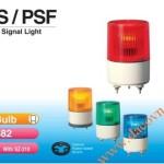 Đèn cảnh báo tín hiệu Patlite Φ82, bóng sợi đốt, nhấp nháy, IP55, PS/PSF - Den-bao-hieu-canh-bao-tin-hieu-Patlite-PS-PSF