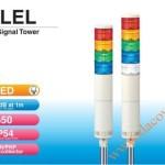 Đèn Tháp Tầng Cảnh báo Patlite, LED Φ50, Còi 85dB, Nhấp Nháy IP54, LEL - Den-thap-tang-bao-hieu-tin-hieu-canh-bao-Patlite-LEL