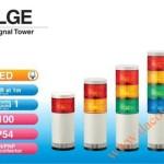 Đèn Tháp Tầng Cảnh báo Patlite LED Φ100 Âm Báo 85dB Nhấp Nháy IP54 LGE - Den-thap-tang-bao-hieu-tin-hieu-canh-bao-Patlite-LGE
