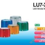 Module đèn LED đèn tháp cảnh báo Patlite LU7 Φ70, nhấp nháy, LU7-XE