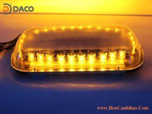 ML900E Mini LightBar Den Uu tien gan noc Nam Cham Tau Nguon-Yellow