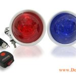 PM-200 MotorCycle Warning Light - Xanh Do