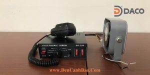 Siren Amplifier PA-300 Speaker YH-100-3A DACO