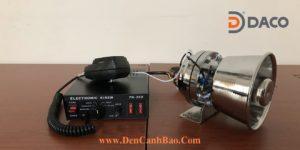 Siren Amplifier PA-300 Speaker YS-100-5 DACO